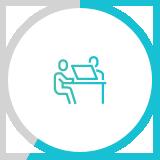 견적 및 계약 icon